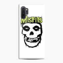 Load image into Gallery viewer, Misfits 'Logo Skull' Long Sleeved Baseball Samsung Galaxy Note 10 Plus Case, Snap Case | Webluence.com