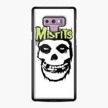 Load image into Gallery viewer, Misfits 'Logo Skull' Long Sleeved Baseball Samsung Galaxy Note 9 Case, Black Plastic Case | Webluence.com
