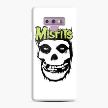 Load image into Gallery viewer, Misfits 'Logo Skull' Long Sleeved Baseball Samsung Galaxy Note 9 Case, Snap Case | Webluence.com