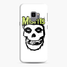 Load image into Gallery viewer, Misfits 'Logo Skull' Long Sleeved Baseball Samsung Galaxy S9 Case, Snap Case | Webluence.com