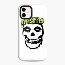 Load image into Gallery viewer, Misfits 'Logo Skull' Long Sleeved Baseball iPhone 11 Case, Snap Case | Webluence.com