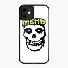 Load image into Gallery viewer, Misfits 'Logo Skull' Long Sleeved Baseball iPhone 11 Case, Black Plastic Case | Webluence.com