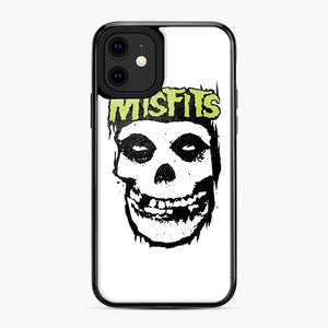 Misfits 'Logo Skull' Long Sleeved Baseball iPhone 11 Case, Black Plastic Case | Webluence.com