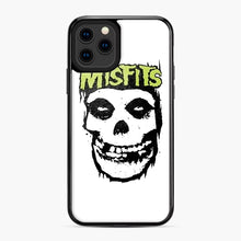Load image into Gallery viewer, Misfits 'Logo Skull' Long Sleeved Baseball iPhone 11 Pro Case, Black Plastic Case | Webluence.com