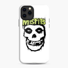 Load image into Gallery viewer, Misfits 'Logo Skull' Long Sleeved Baseball iPhone 11 Pro Case, Snap Case | Webluence.com