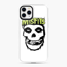 Load image into Gallery viewer, Misfits 'Logo Skull' Long Sleeved Baseball iPhone 11 Pro Case, White Plastic Case | Webluence.com
