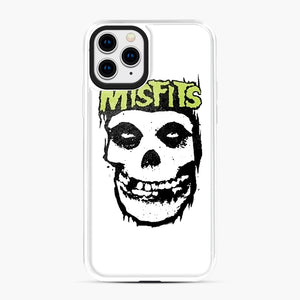 Misfits 'Logo Skull' Long Sleeved Baseball iPhone 11 Pro Case, White Plastic Case | Webluence.com