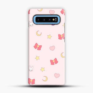 Moon Bunny 1 Samsung Galaxy S10 Case, Snap Case | Webluence.com