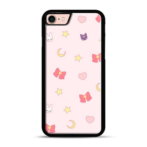 Moon Bunny 1 iPhone 7/8 Case.jpg, Black Plastic Case | Webluence.com