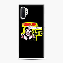 Load image into Gallery viewer, New rock hardcore punk horror the misfits skull print Samsung Galaxy Note 10 Plus Case, White Plastic Case | Webluence.com