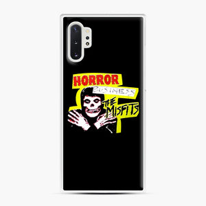 New rock hardcore punk horror the misfits skull print Samsung Galaxy Note 10 Plus Case, White Plastic Case | Webluence.com