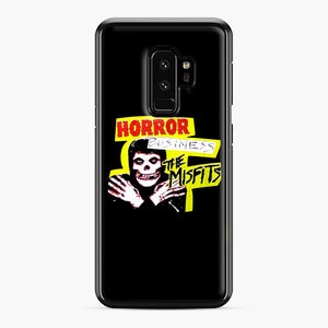 New rock hardcore punk horror the misfits skull print Samsung Galaxy S9 Plus Case, Black Plastic Case | Webluence.com