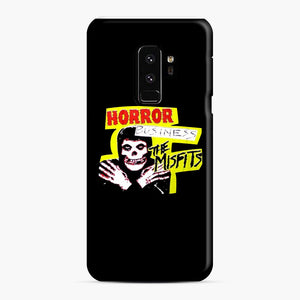 New rock hardcore punk horror the misfits skull print Samsung Galaxy S9 Plus Case, Snap Case | Webluence.com