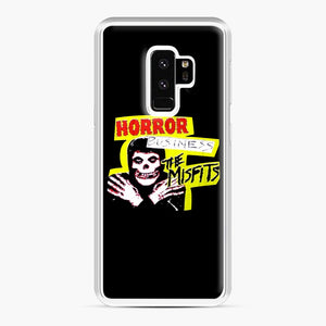 New rock hardcore punk horror the misfits skull print Samsung Galaxy S9 Plus Case, White Plastic Case | Webluence.com