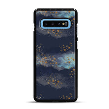 Load image into Gallery viewer, Night Sky & Stars1 Samsung Galaxy S10 Plus Case, Black Rubber Case | Webluence.com