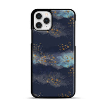Load image into Gallery viewer, Night Sky & Stars1 iPhone 11 Pro Case, Black Rubber Case | Webluence.com