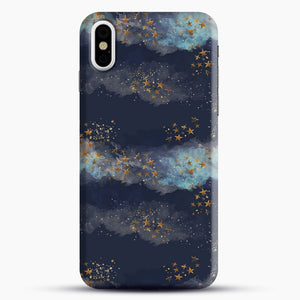 Night Sky & Stars1 iPhone X/XS Case, Snap Case | Webluence.com