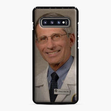 Load image into Gallery viewer, Official Dr. Fauci Anthony Fauci Samsung Galaxy S10 Plus Case, Black Plastic Case | Webluence.com