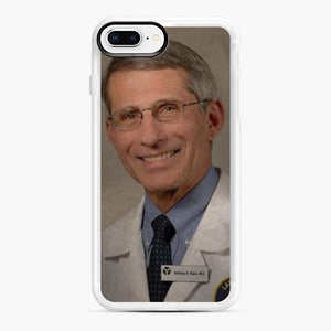 Official Dr. Fauci Anthony Fauci iPhone 7,8 Plus Case, White Rubber Case | Webluence.com