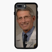 Load image into Gallery viewer, Official Dr. Fauci Anthony Fauci iPhone 7,8 Plus Case, Black Rubber Case | Webluence.com