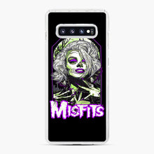 Load image into Gallery viewer, Original Misfits Samsung Galaxy S10 Plus Case, White Plastic Case | Webluence.com
