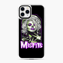 Load image into Gallery viewer, Original Misfits iPhone 11 Pro Case, White Plastic Case | Webluence.com