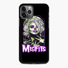 Load image into Gallery viewer, Original Misfits iPhone 11 Pro Case, Black Rubber Case | Webluence.com