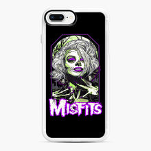 Load image into Gallery viewer, Original Misfits iPhone 7,8 Plus Case, White Rubber Case | Webluence.com