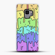 Load image into Gallery viewer, Pastel Melting Rainbow Samsung Galaxy S9 Case, Snap Case | Webluence.com