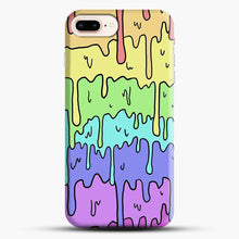 Load image into Gallery viewer, Pastel Melting Rainbow iPhone 7 Plus/8 Plus Case, Snap Case | Webluence.com