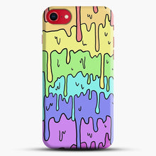 Load image into Gallery viewer, Pastel Melting Rainbow iPhone 7/8 Case.jpg, Snap Case | Webluence.com