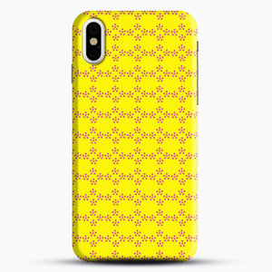 Pentagon Pattern iPhone X/XS Case, Snap Case | Webluence.com
