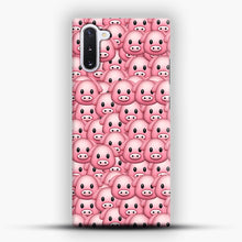 Load image into Gallery viewer, Pig Emoji Pattern 1 Samsung Galaxy Note 10 Case, Snap Case | Webluence.com