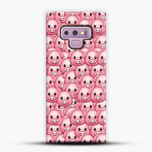Load image into Gallery viewer, Pig Emoji Pattern 1 Samsung Galaxy Note 9 Case, Snap Case | Webluence.com