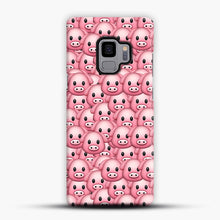 Load image into Gallery viewer, Pig Emoji Pattern 1 Samsung Galaxy S9 Case, Snap Case | Webluence.com