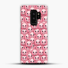 Load image into Gallery viewer, Pig Emoji Pattern 1 Samsung Galaxy S9 Plus Case, Snap Case | Webluence.com