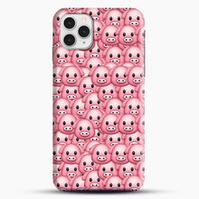 Load image into Gallery viewer, Pig Emoji Pattern 1 iPhone 11 Pro Case, Snap Case | Webluence.com