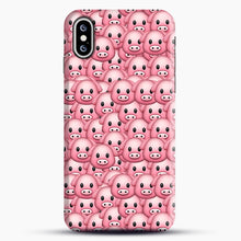 Load image into Gallery viewer, Pig Emoji Pattern 1 iPhone XS Max Case, Snap Case | Webluence.com