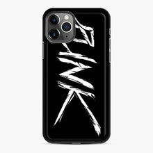 Load image into Gallery viewer, Punk Modern Style iPhone 11 Pro Case, Black Rubber Case