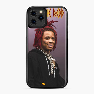 Purple Redd Tour 2020 Trippie iPhone 11 Pro Case, Black Plastic Case