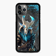 Load image into Gallery viewer, Ragnarok Fortnite 1 iPhone 11 Pro Case, Black Rubber Case