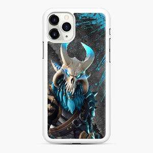 Ragnarok Fortnite 1 iPhone 11 Pro Case, White Rubber Case