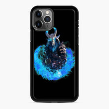 Load image into Gallery viewer, Ragnarok Fortnite iPhone 11 Pro Case, Black Rubber Case