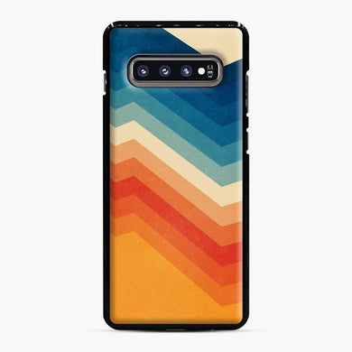 Rainbow Barricade Samsung Galaxy S10 Plus Case, Black Plastic Case | Webluence.com