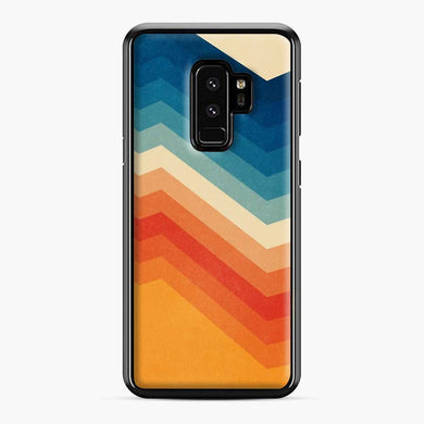 Rainbow Barricade Samsung Galaxy S9 Plus Case, Black Plastic Case | Webluence.com