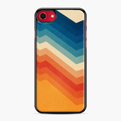 Rainbow Barricade iPhone 7/8 Case, Black Plastic Case | Webluence.com