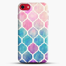 Load image into Gallery viewer, Rainbow Pastel Watercolor iPhone 7/8 Case.jpg, Snap Case | Webluence.com