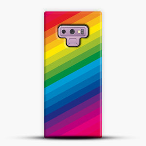 Rainbow Samsung Galaxy Note 9 Case, Snap Case | Webluence.com