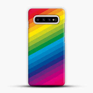 Rainbow Samsung Galaxy S10 Plus Case, Snap Case | Webluence.com