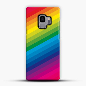 Rainbow Samsung Galaxy S9 Case, Snap Case | Webluence.com